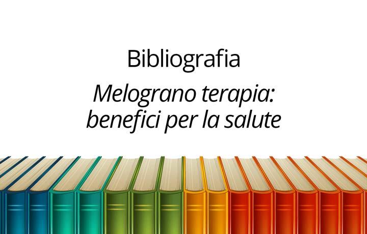 Bibliografia Melograno